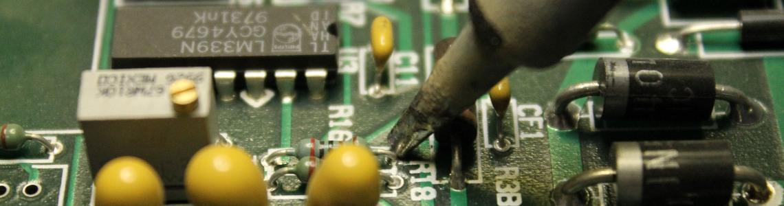 Resinatura componenti elettrici